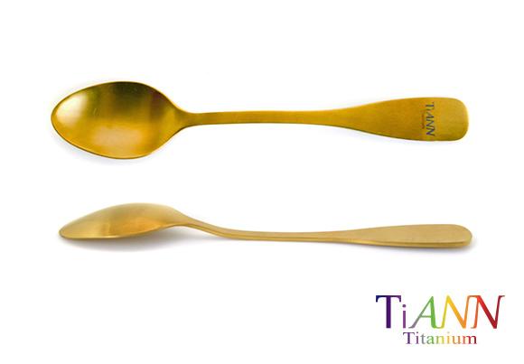 鈦湯匙 鈦叉子 中鋼鈦碗 鈦筷子 鈦餐具 titanium spoon