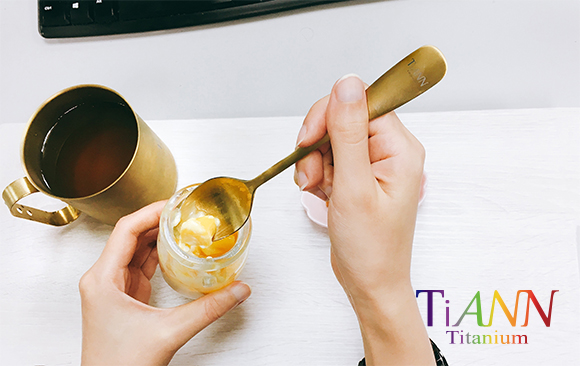 鈦湯匙 湯匙 鈦叉子 中鋼鈦碗 鈦筷子 鈦餐具 titanium spoon
